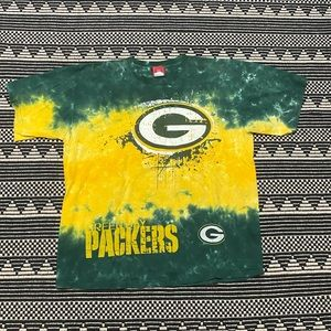 Green Bay Packers NFL Men's Tie Dye Shirt
